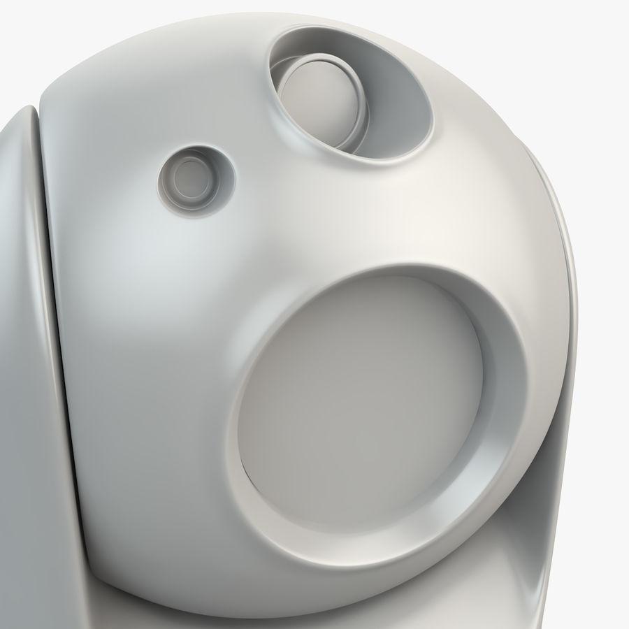 Caméra de surveillance 360 degrés royalty-free 3d model - Preview no. 11