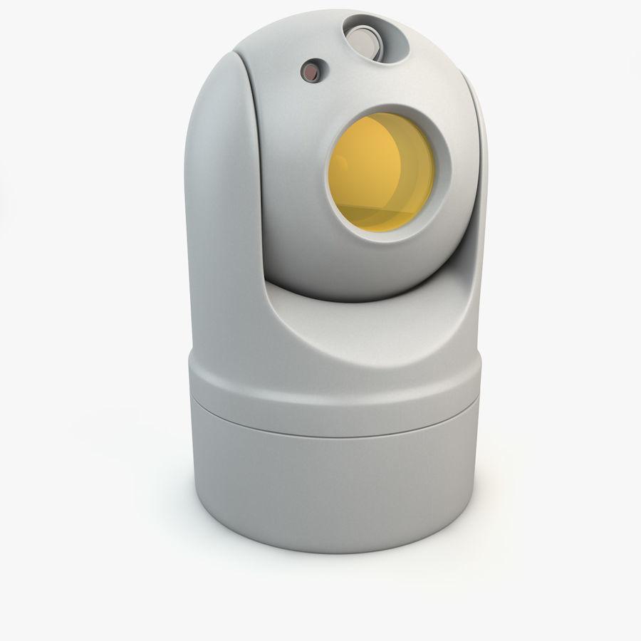 Caméra de surveillance 360 degrés royalty-free 3d model - Preview no. 1