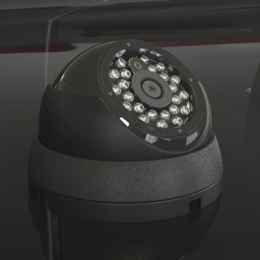 Security Camera royalty-free 3d model - Preview no. 1