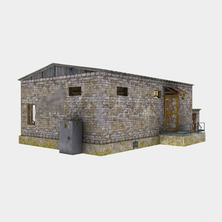 lager royalty-free 3d model - Preview no. 6