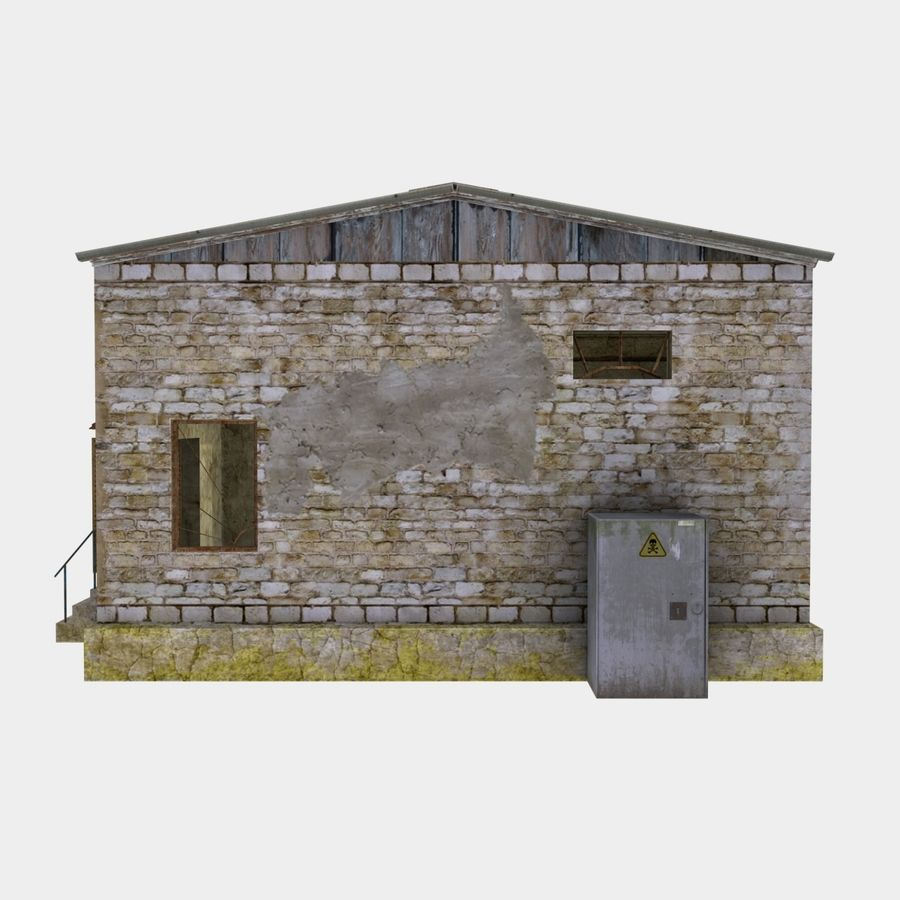 lager royalty-free 3d model - Preview no. 5