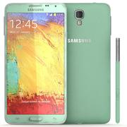 삼성 Galaxy Note 3 Neo Green 3d model