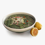 Vietnamese Pho Soup 3d model