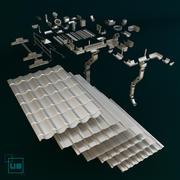 屋顶 3d model