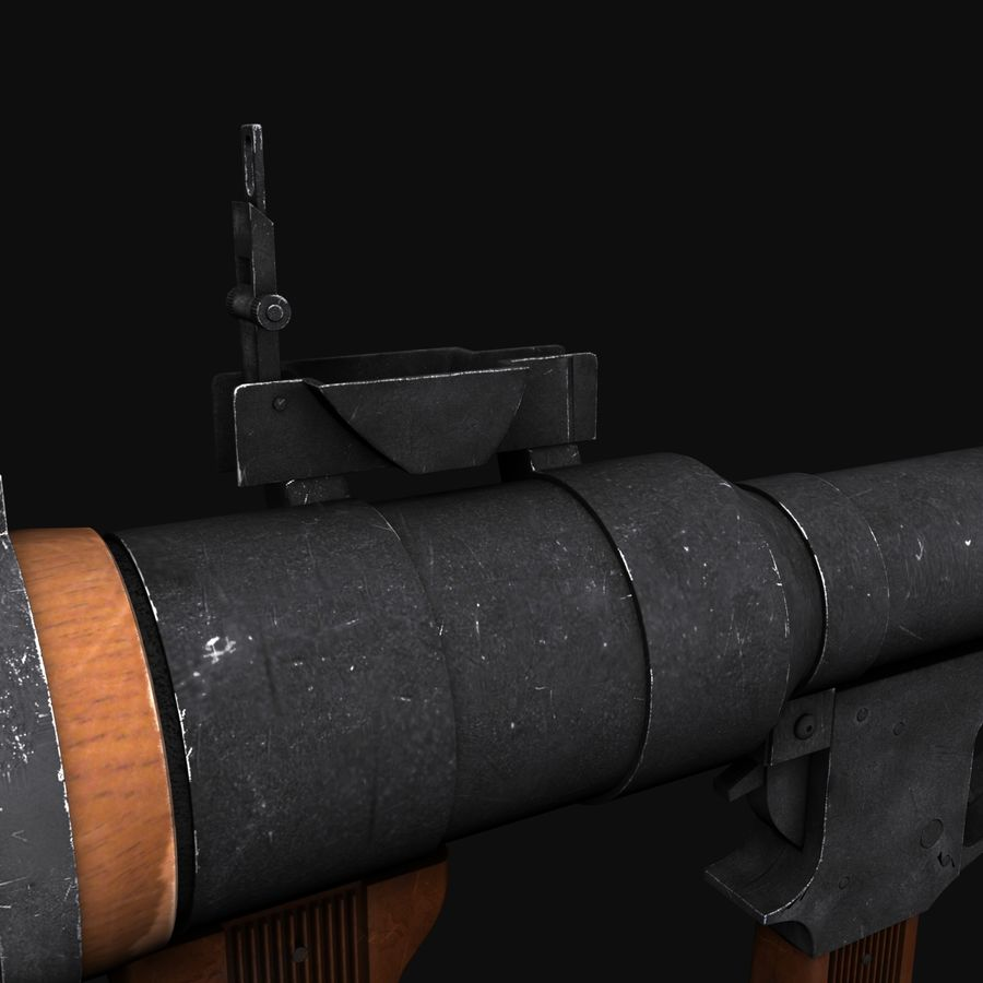RPG royalty-free 3d model - Preview no. 19