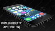 iPhone 6终于 3d model