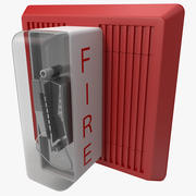 Пожарная сигнализация Wheelock MT-24 3d model