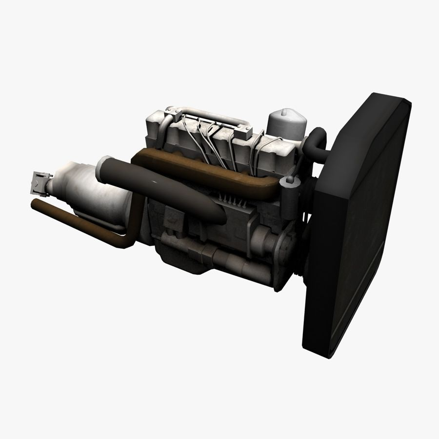 Motor 3 royalty-free 3d model - Preview no. 1