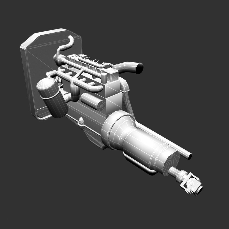Motor 3 royalty-free 3d model - Preview no. 17