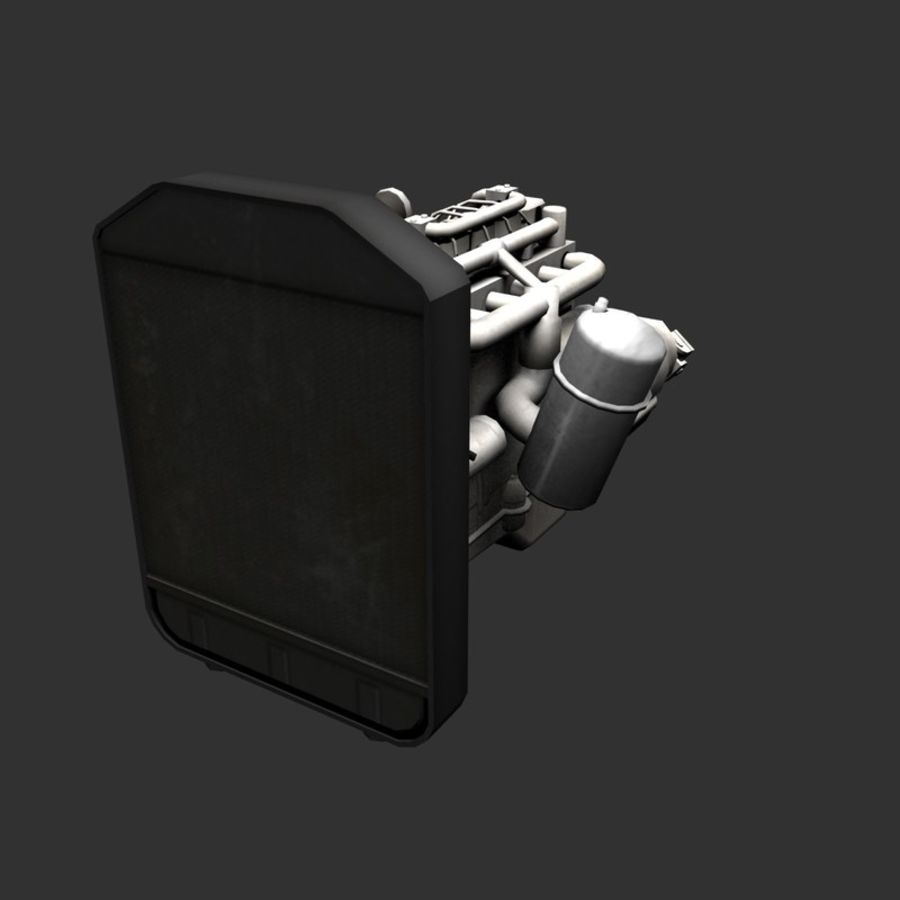Motor 3 royalty-free 3d model - Preview no. 13
