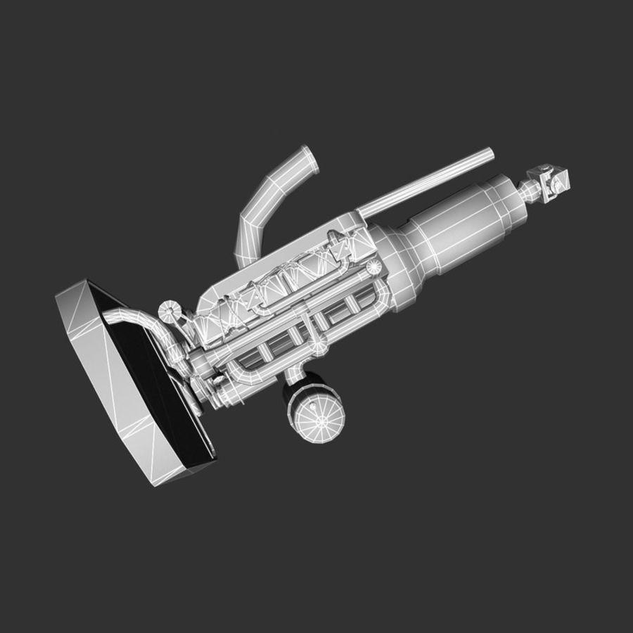 Motor 3 royalty-free 3d model - Preview no. 18