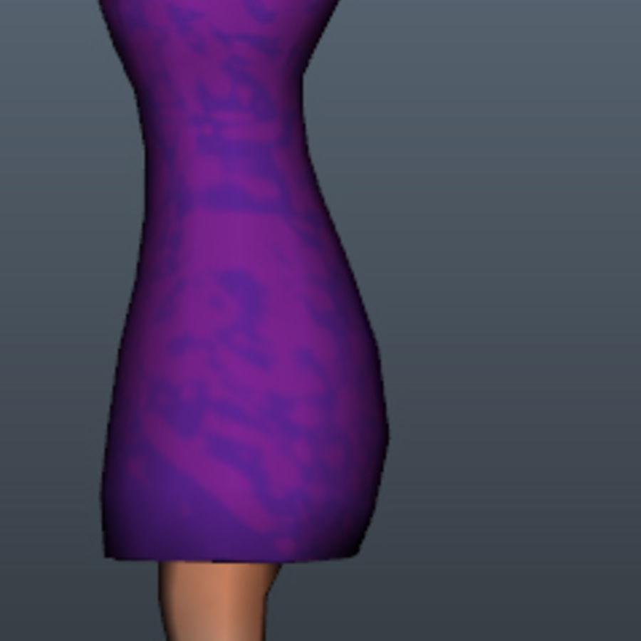 Игровой персонаж royalty-free 3d model - Preview no. 6