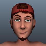 ゲームキャラクター 3d model