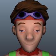 Postać w grze 3d model