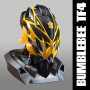 Bumblebee head transformers 4 3d model