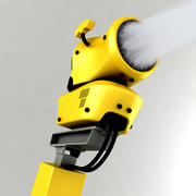 雪枪 3d model