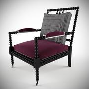 Nuova sedia mandrino bohémien 3d model