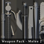 Weapons Pack - Melee 2 3d model