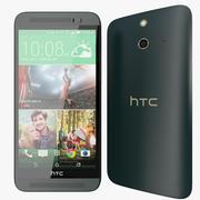 HTC ONE E8 Cinzento 3d model