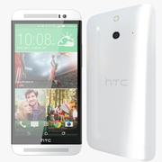 HTC ONE E8 Branco 3d model