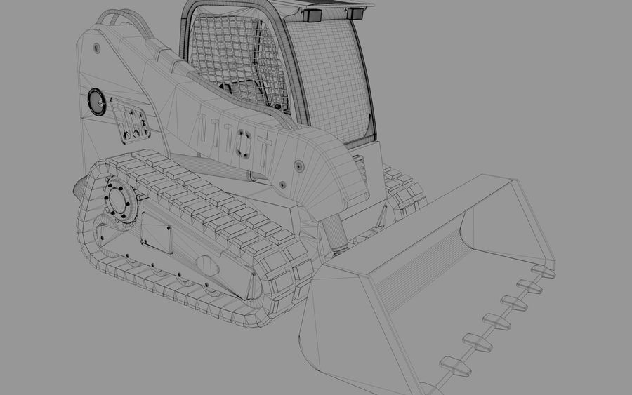 建設機械 royalty-free 3d model - Preview no. 6
