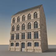Europees gebouw 111 3d model