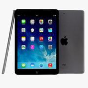 Apple iPad Air和Mini 2 Space灰色 3d model