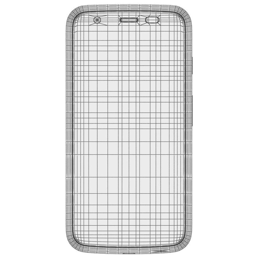 Motorola Moto G 4G nero royalty-free 3d model - Preview no. 27