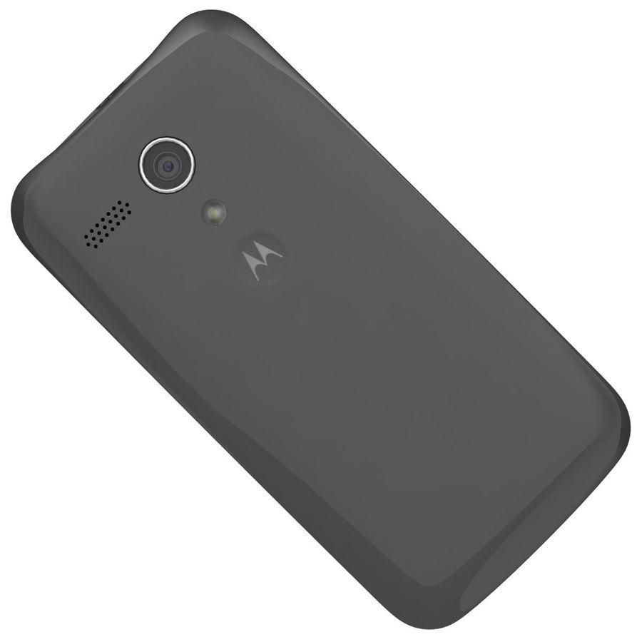 Motorola Moto G 4G Czarny royalty-free 3d model - Preview no. 24