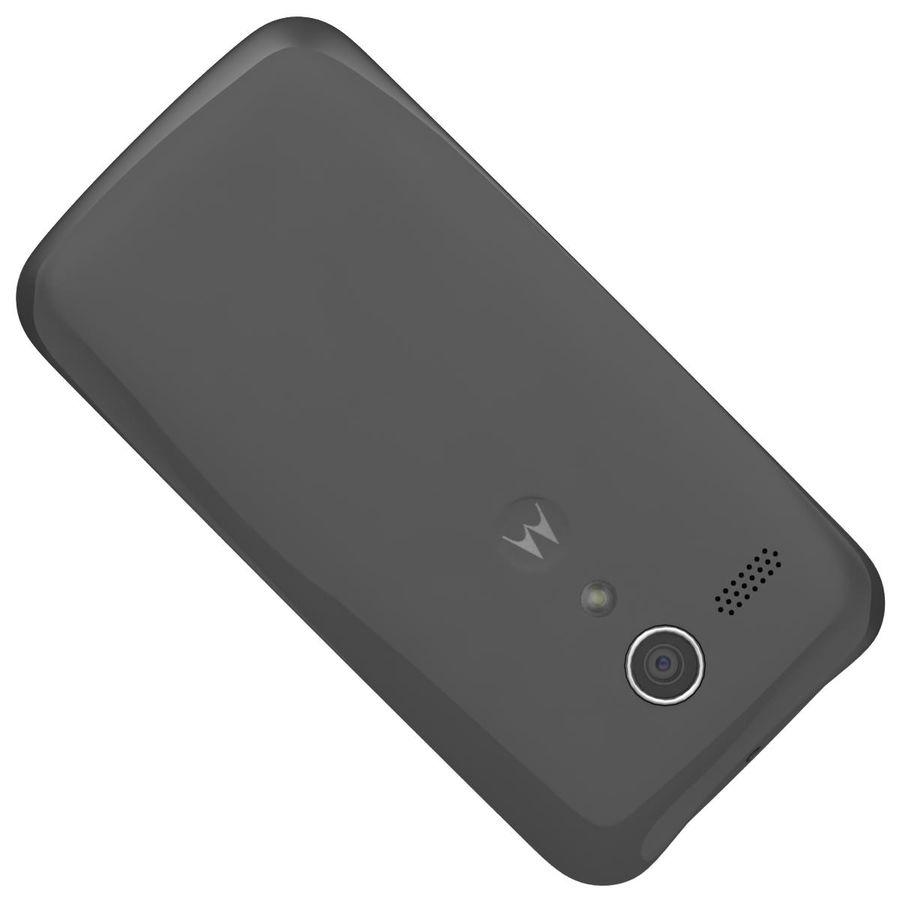 Motorola Moto G 4G Czarny royalty-free 3d model - Preview no. 20