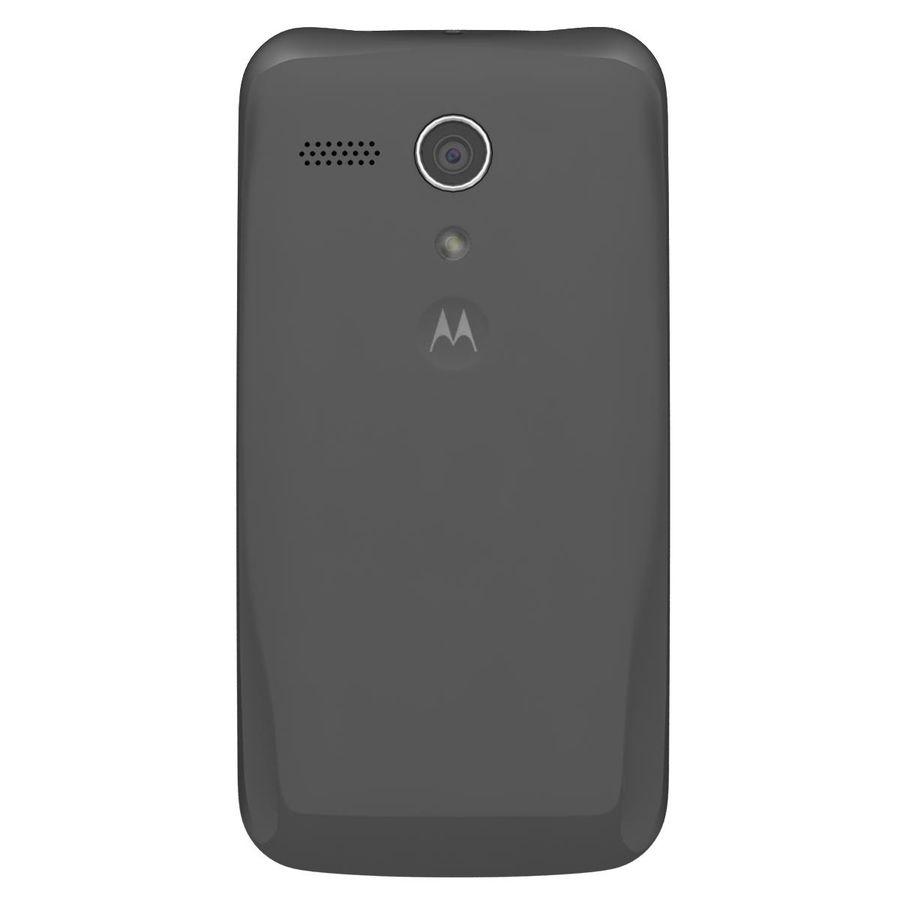 Motorola Moto G 4G Svart royalty-free 3d model - Preview no. 7