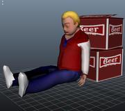 游戏障碍 3d model