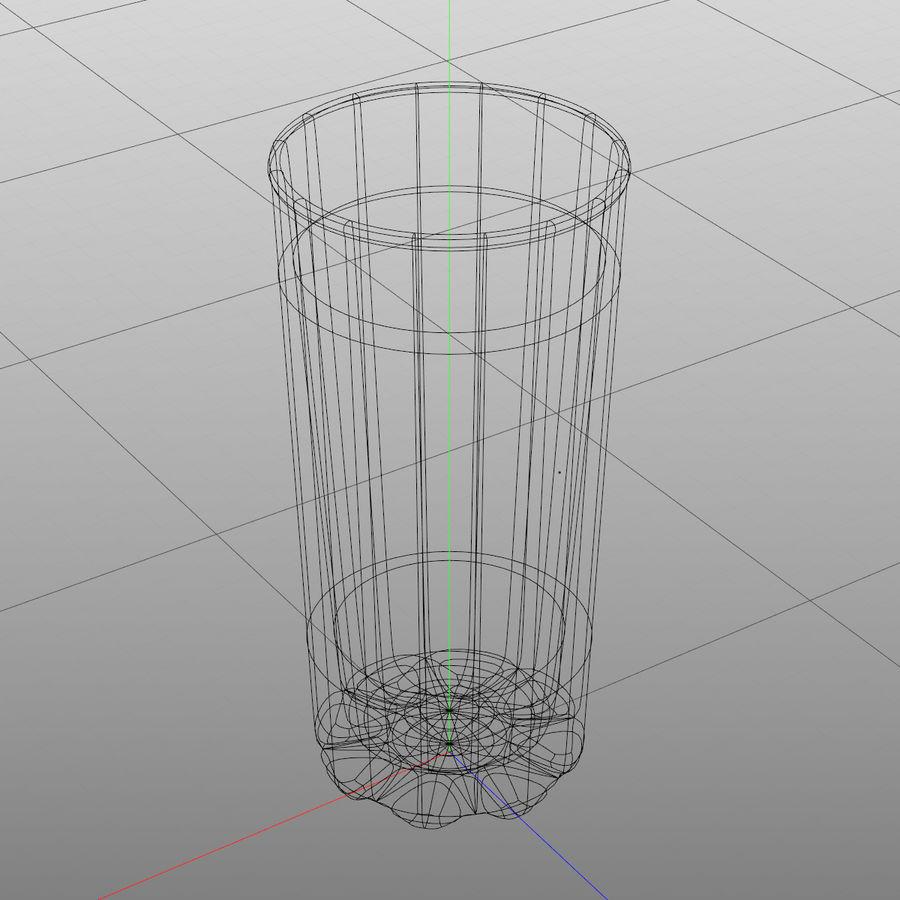 Huit verres à boire royalty-free 3d model - Preview no. 12