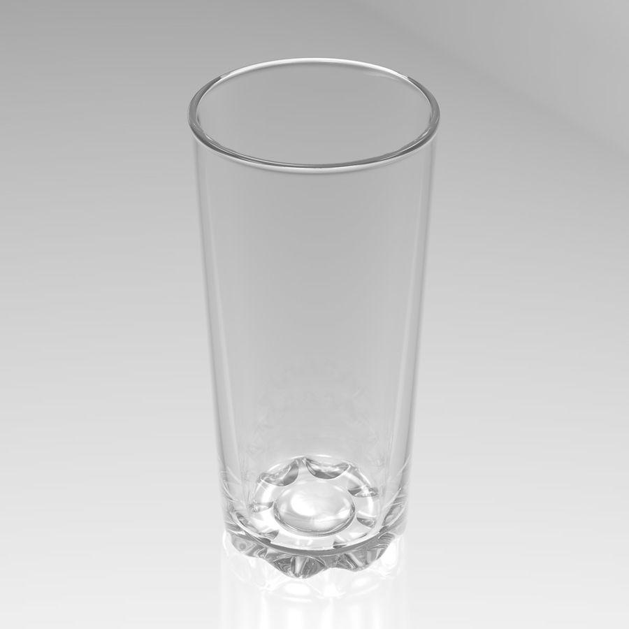 Huit verres à boire royalty-free 3d model - Preview no. 10