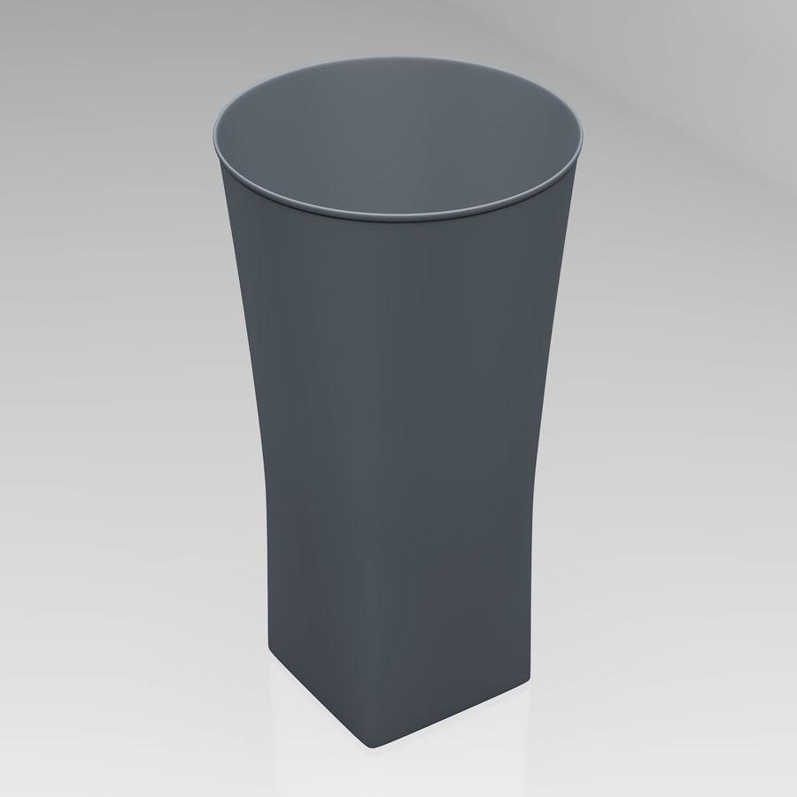 Huit verres à boire royalty-free 3d model - Preview no. 26