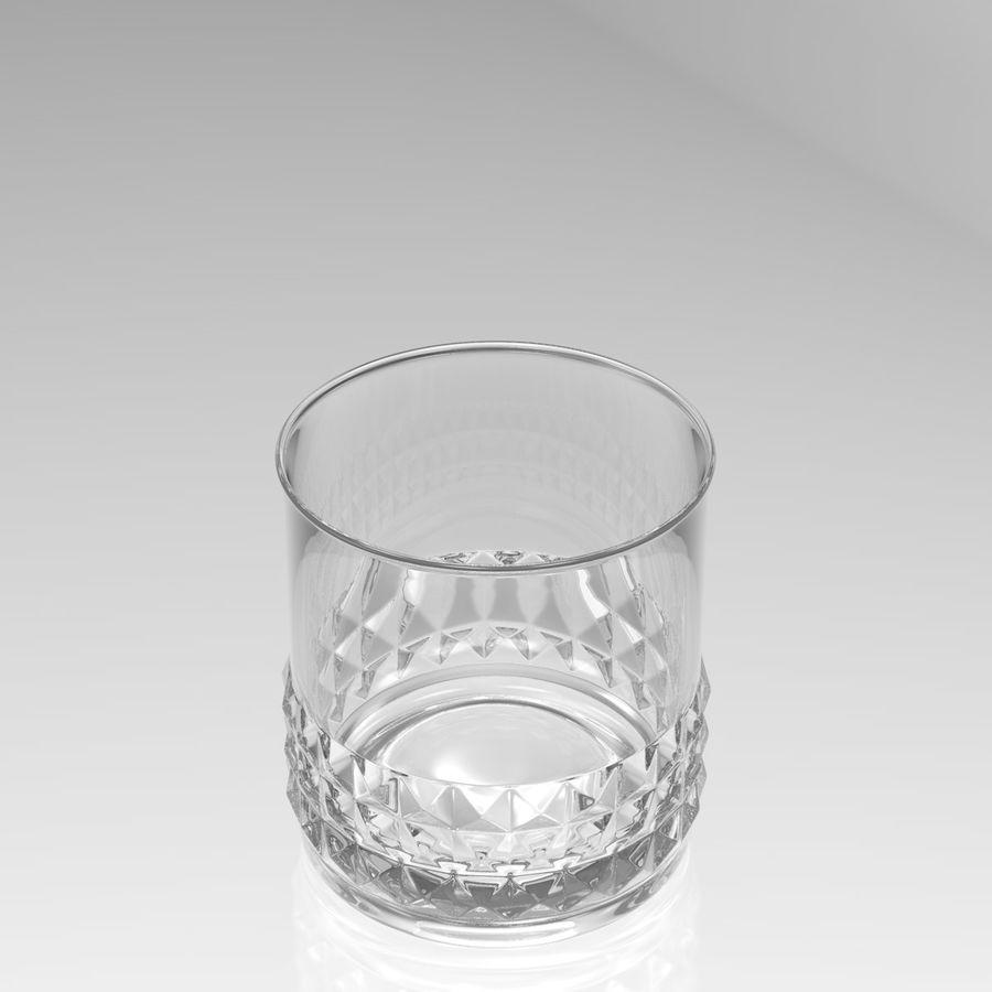 Huit verres à boire royalty-free 3d model - Preview no. 7