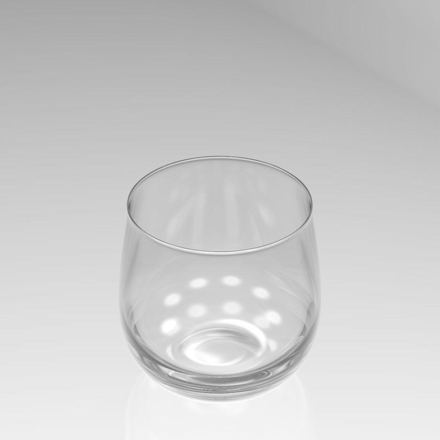 Huit verres à boire royalty-free 3d model - Preview no. 19