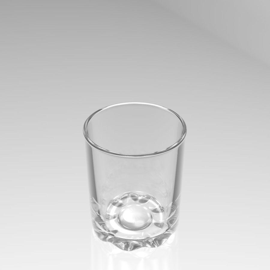 Huit verres à boire royalty-free 3d model - Preview no. 16