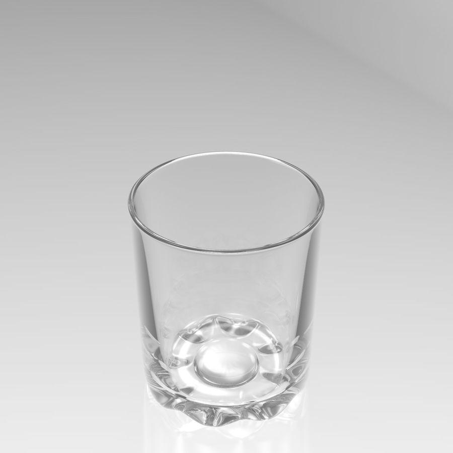 Huit verres à boire royalty-free 3d model - Preview no. 13