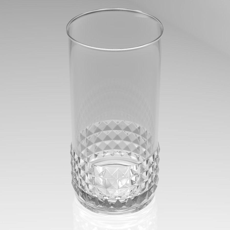 Huit verres à boire royalty-free 3d model - Preview no. 4