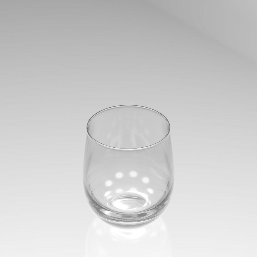 Huit verres à boire royalty-free 3d model - Preview no. 22