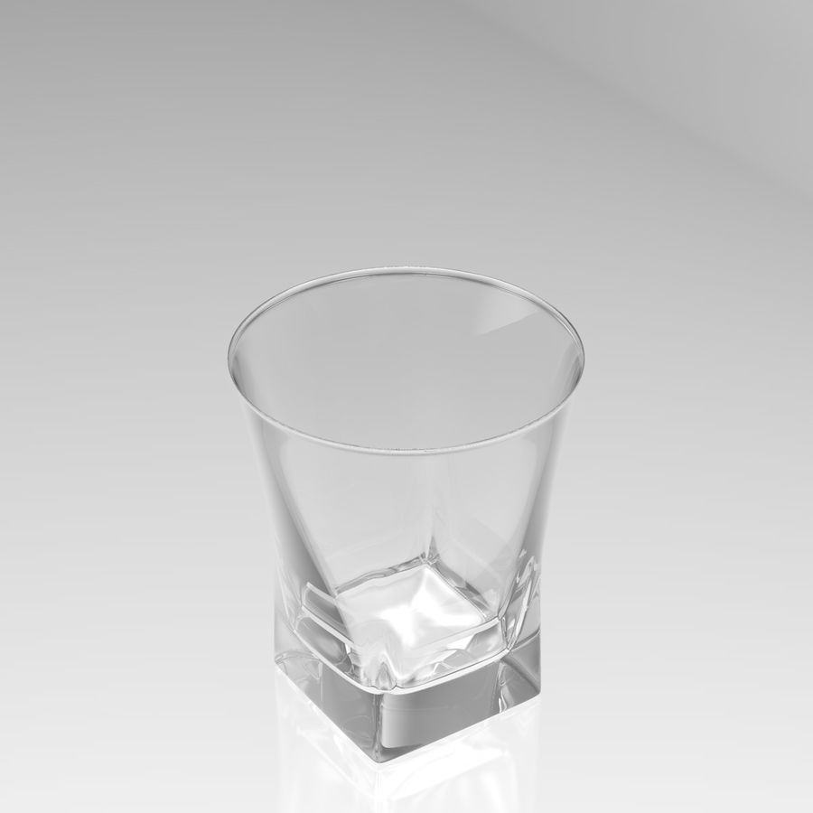 Huit verres à boire royalty-free 3d model - Preview no. 28