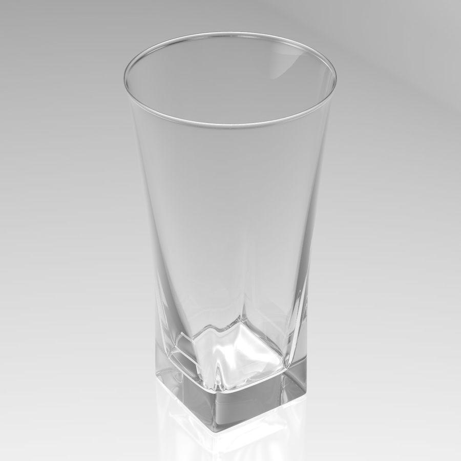 Huit verres à boire royalty-free 3d model - Preview no. 25