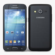 Samsung Galaxy Core LTE Czarny 3d model