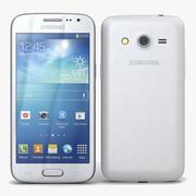 Samsung Galaxy Core LTE Wit 3d model