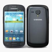 Samsung Galaxy S III mini VE Black 3d model