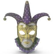 Masque de carnaval 3d model