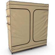 Double Door Portable Closet 3d model