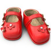 Детские туфли 3d model