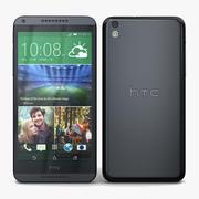HTC Desire 816 Czarny 3d model